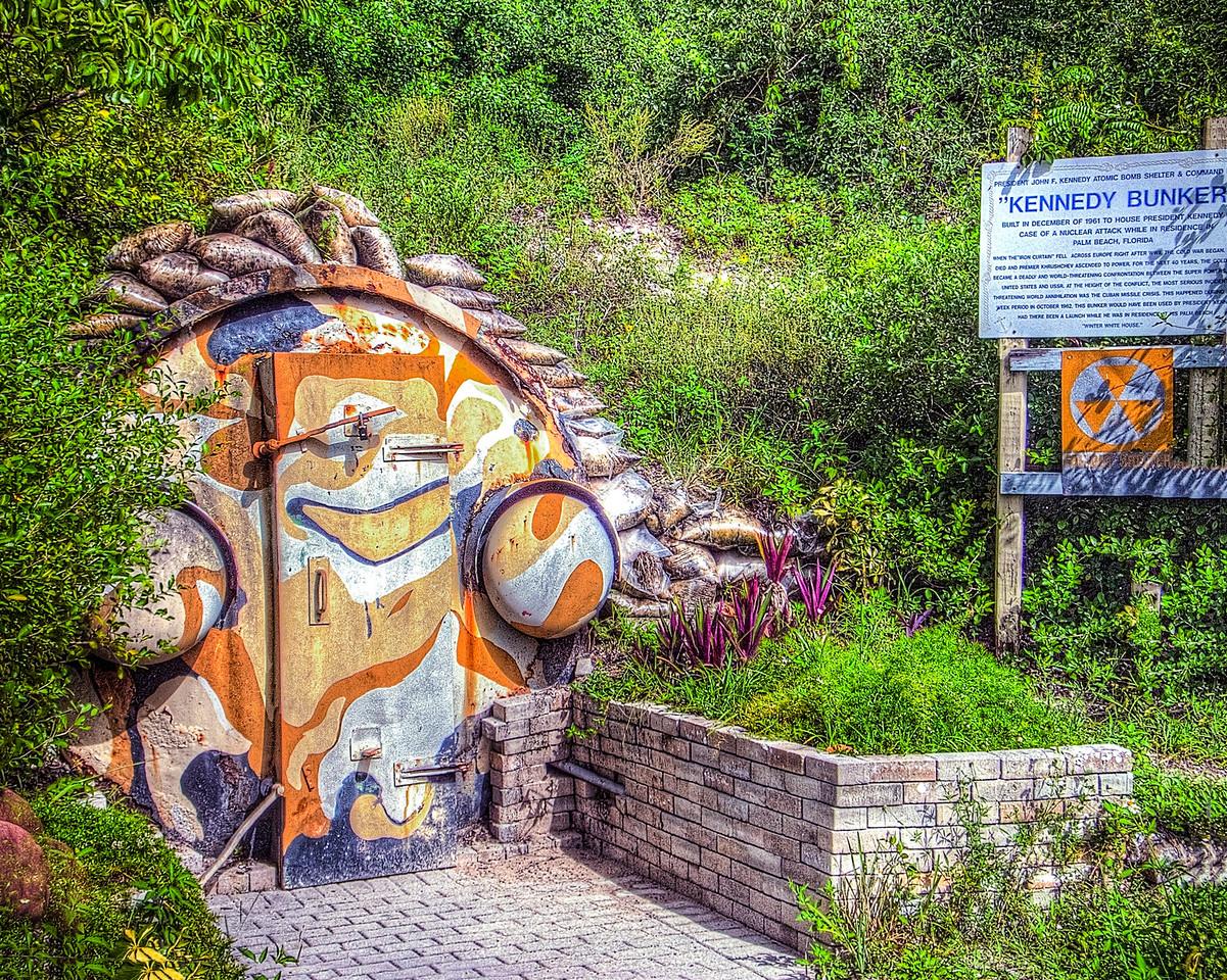 Door to Kennedy Bunker