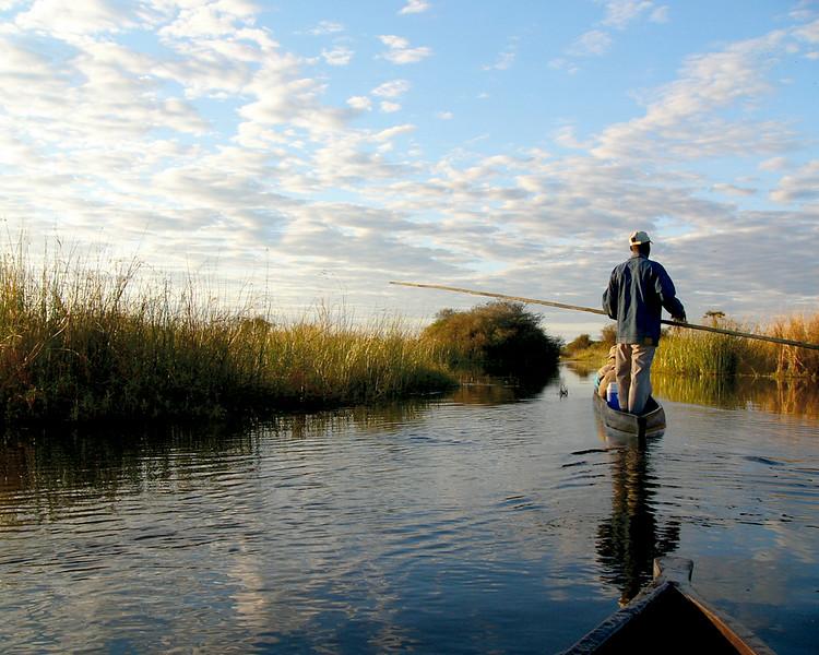Botswana Boatman