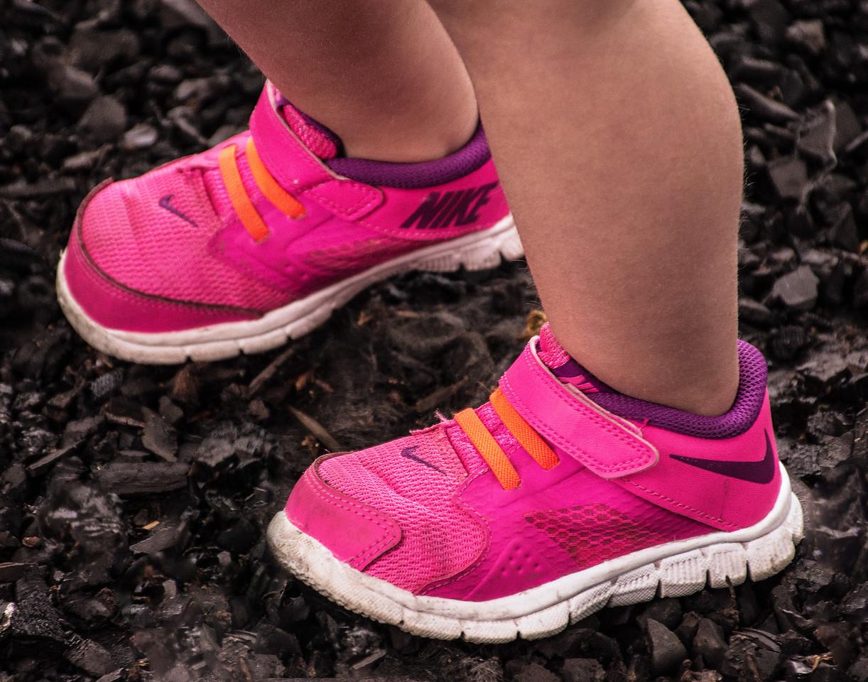 Chloe's Little Nikes