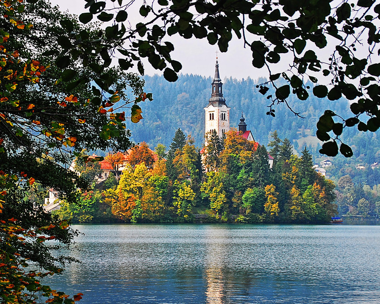 Pilgrimage Church, Lake Bled, Slovenia