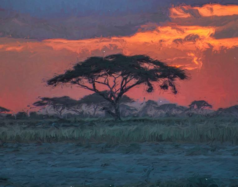 Serengetti Sunset