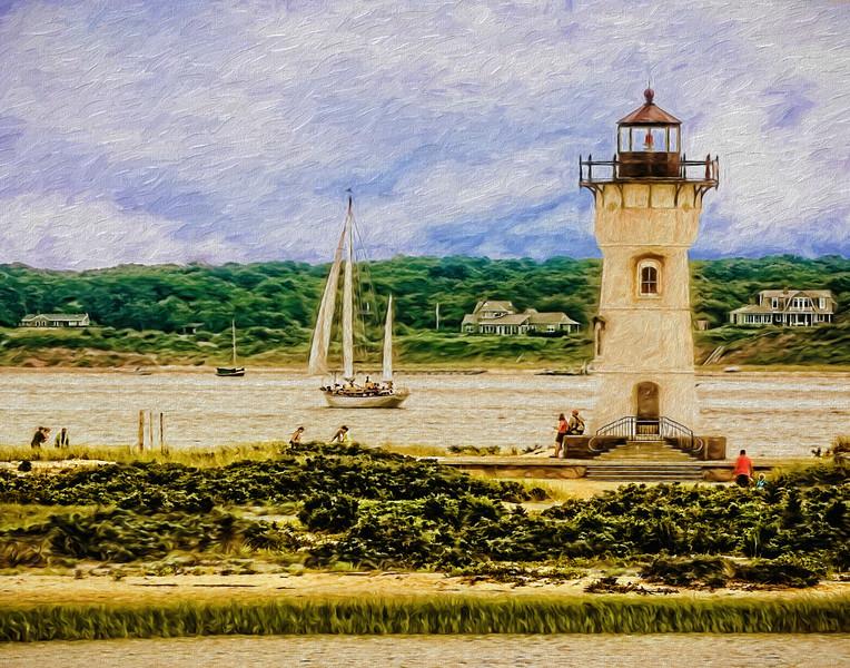 Oak Bluffs Lighthouse, Martha's Vineyard