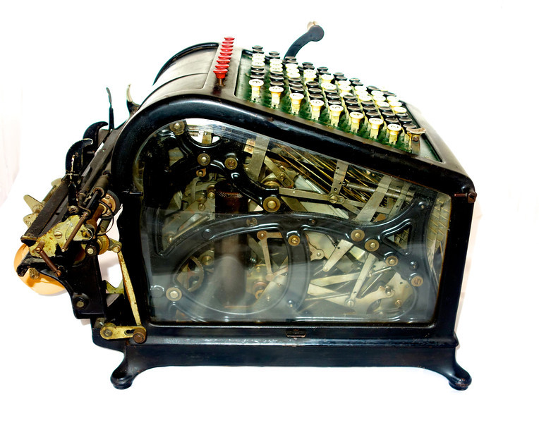 Burroughs Adding Machine, circa 1908