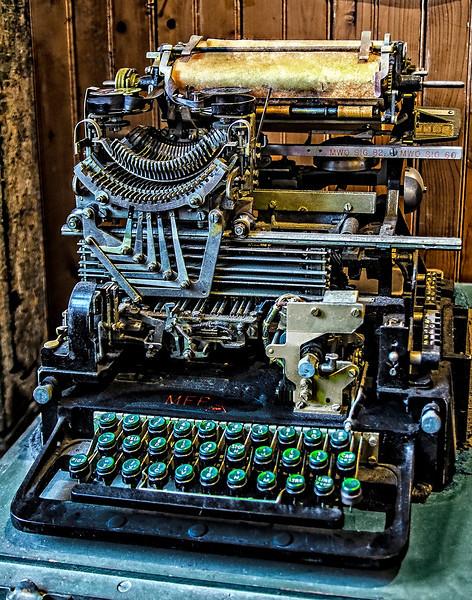 First Teletype Machine