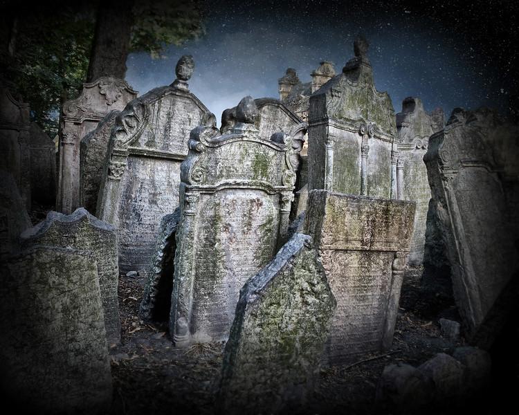 Jewish Cemetery - Prague