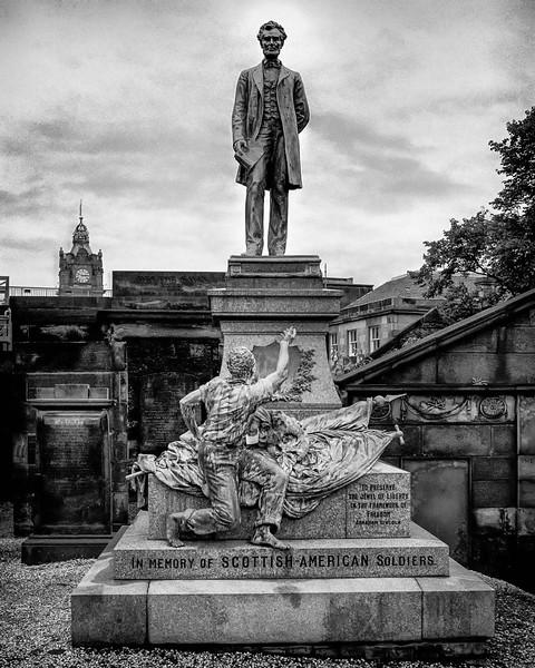 Old Carlton Cemetary, Edinburgh, Scotland
