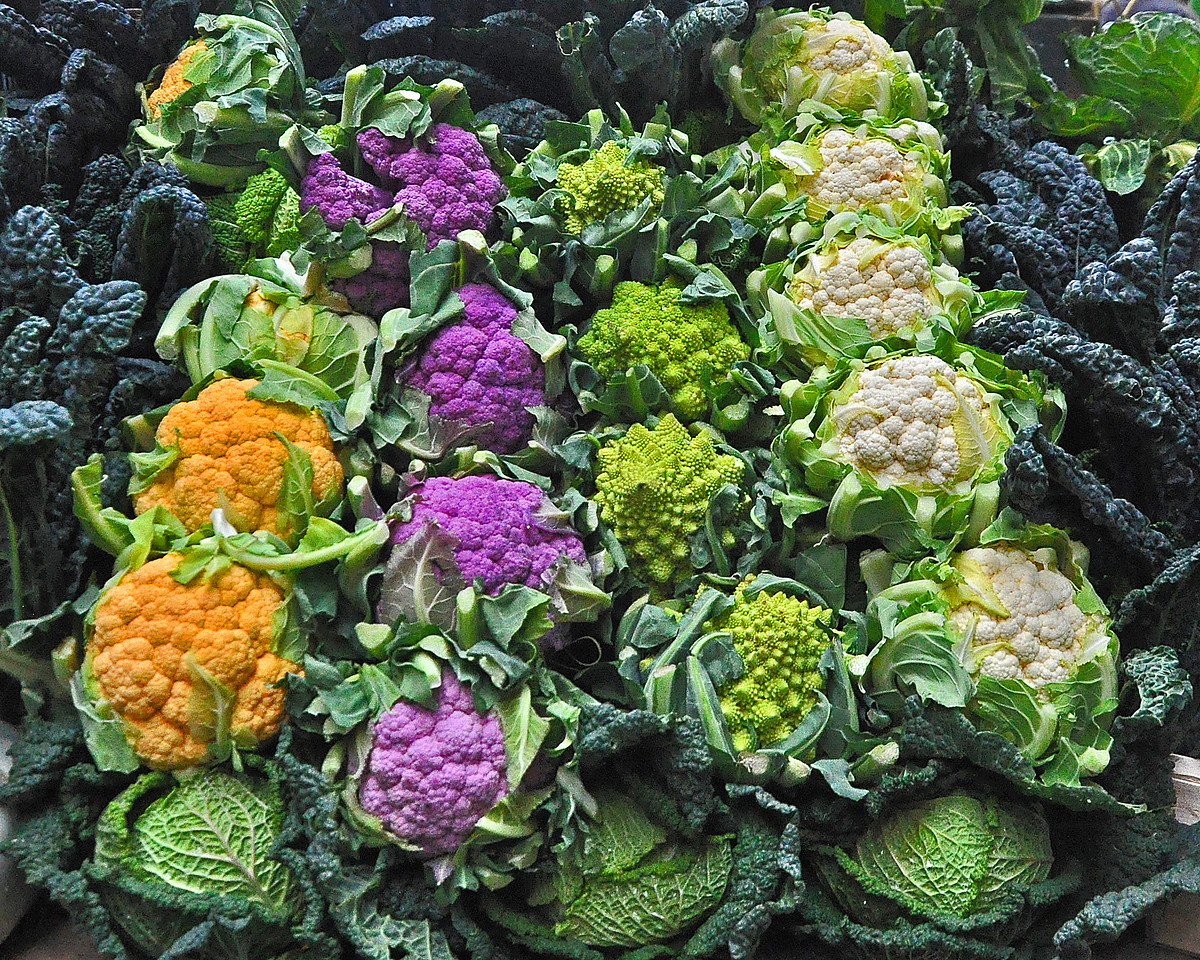 Most Colorful Cauliflower