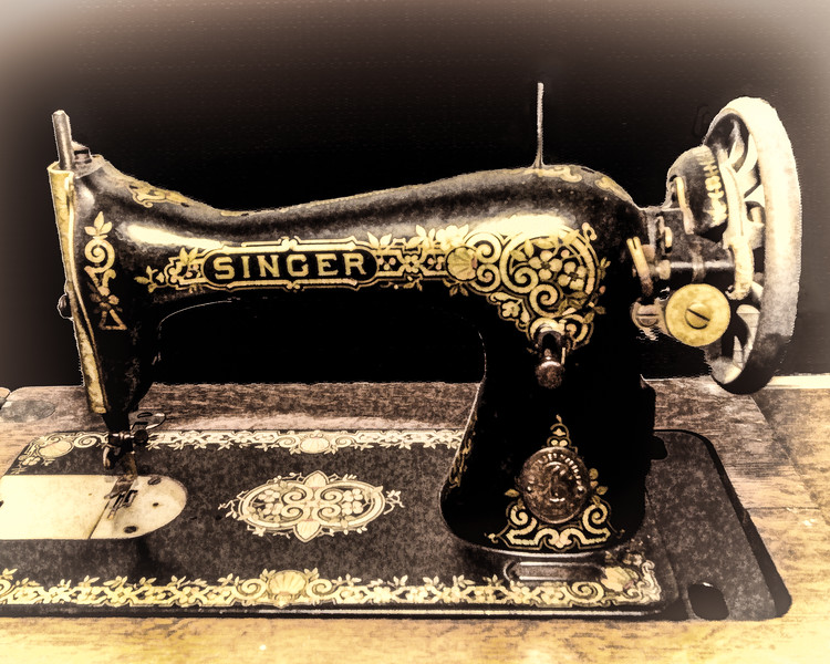 Grandma's Sewing Machine