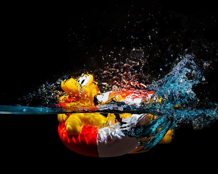Pluto splash