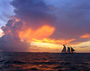 Fleeing a storm in the Keys - Pete Stein