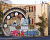 Jerusalem Graffiti Wall