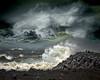 Shoreline Storm In Iceland