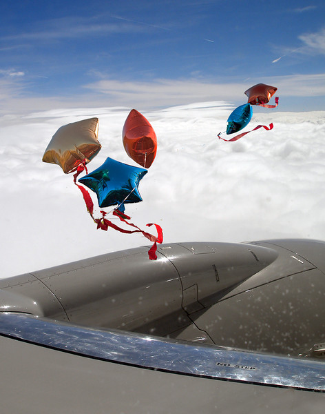 Blowing past my airplane window<br /> <br /> Pete Stein