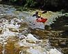 Kayaking Down Boulder Creek.   David Rosenstein