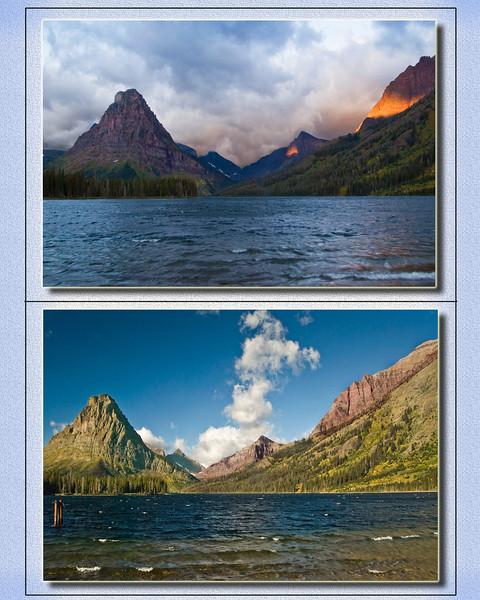 Two Medicine Lake - Glacier National Park <br /> Sunrise / Late Morning<br /> Mike Packman