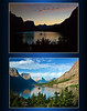 Wild Goose Island - Glacier National Park<br /> Sunset / Late Morning <br /> Mike Packman