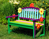 Bench (Charlotte Botanical Gardens)<br /> <br /> Pete Stein