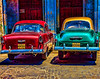 Parking in Havana - HDR - David R.