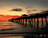 Before Sunrise at the Jupiter Pier - Steve Telchin