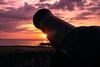 Cannon at Sunset - David Rosenstein