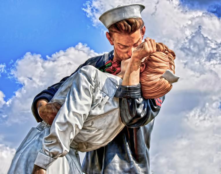 The Kiss ( Unconditional Surrender Statue  -Sarasota, Florida)<br /> <br /> Pete Stein