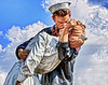 The Kiss ( Unconditional Surrender Statue  -Sarasota, Florida)<br /> <br /> Pete Stein