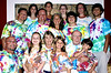 Three generations tie-dyed together.  Jay Schwartz