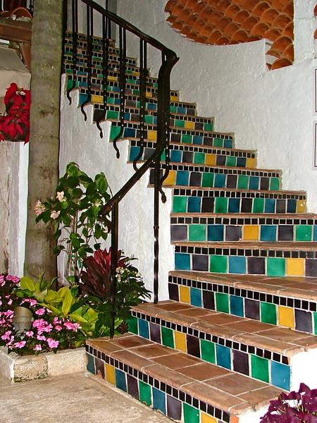 Welcoming Stairway