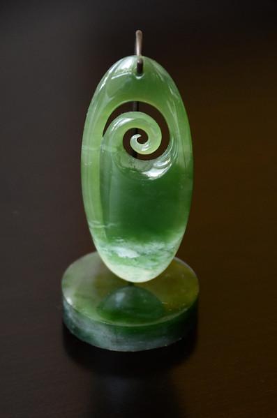 Delicate Jade Sculpture
