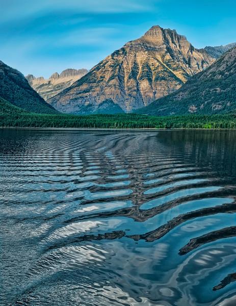 Leading To The Peaks of Lake McDonald, Glacier Nat'l Park