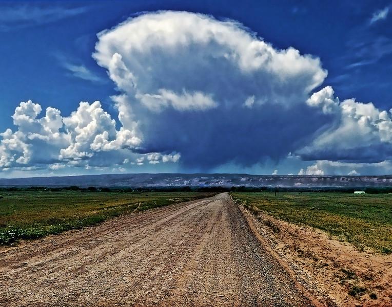 Into A Cloud-Burst