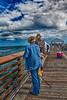 Fishing On Juno Beach Pier