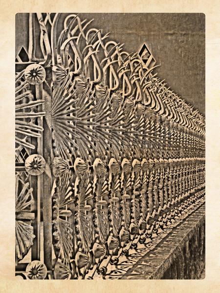 Gaudi Fence