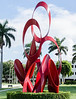 Sculpture on Palm Beach Lakes Blvd