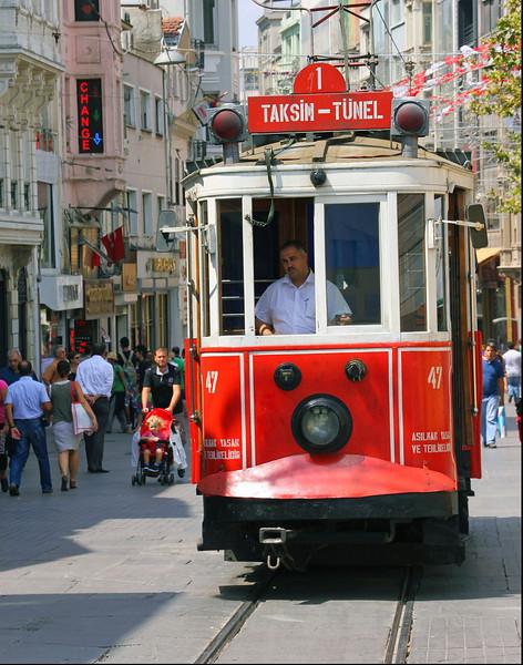 Taksim Square Trolley