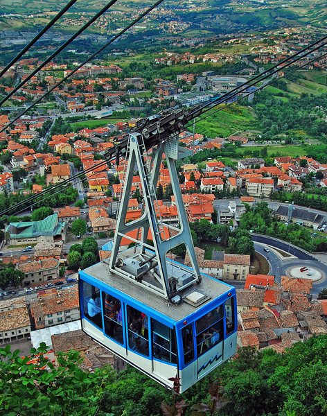 Cable Car - San Marino