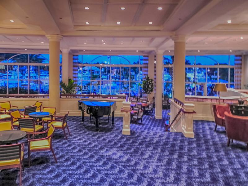 Admirals Cove Reception Lobby & Marina