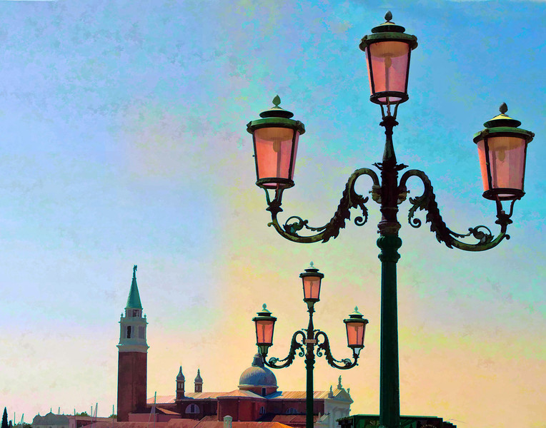 Lights at St. Mark's Square