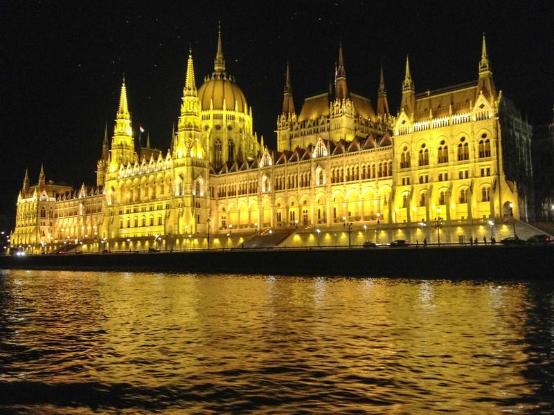 Parliament Lights - Budapest