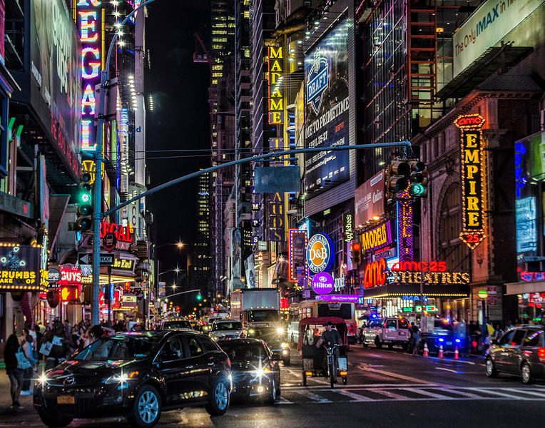 Lights of Times Square