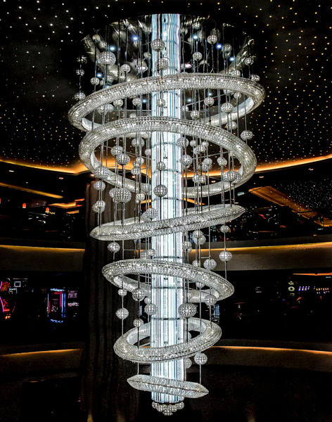 Funky Chandelier on Ship