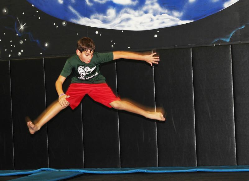 The Tramboline Jumper