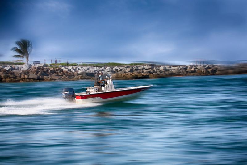Speeding to the Ocean