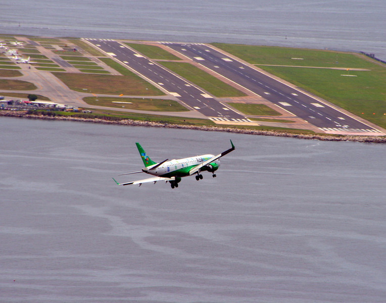 Arriving in Rio de Jeneiro