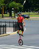 Unicycle Juggler