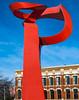"""""""P"""" Sculpture at San Antonio"""