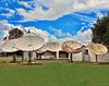 TV Satellite Dish Farm