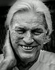 Elderly with wrinkles