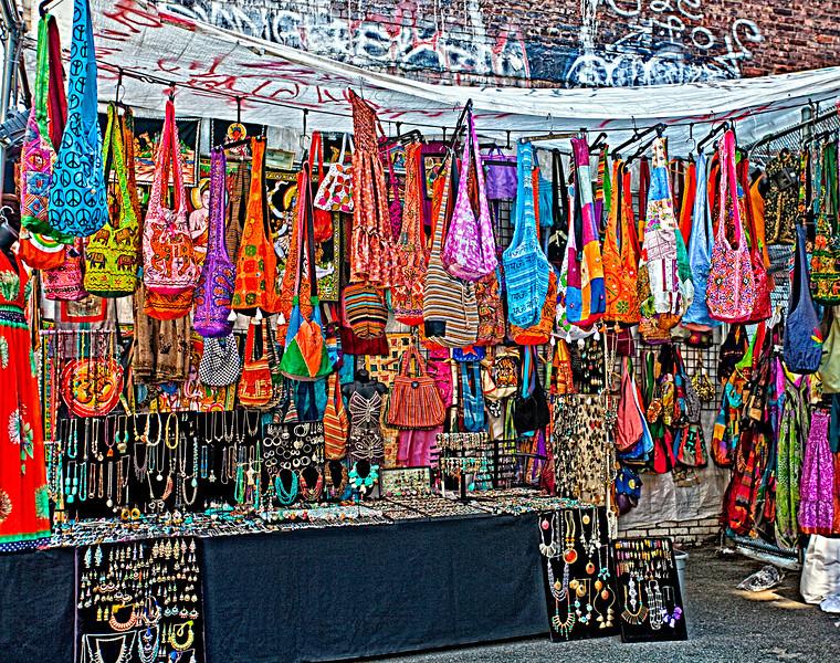 Outdoor SOHO Flea Market