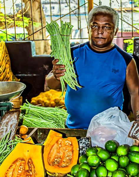 Fresh Food Market in Havana